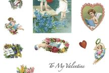 matrica szerelem Valentin nap / stickers love day