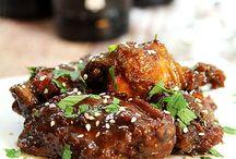 Crock pot chicken wings / Chicken wings