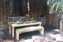 Farm tables and benches / Custom farm style tables and benches