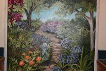 Ideas for garden wall