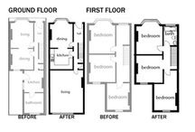 House - storage / Victorian terraced house renovation project - ideas and mood board