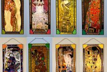 Gustaf Klimt, Stained Glass
