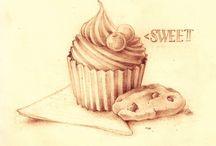 Food Zeichnung