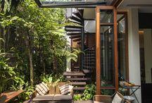 옥상 공간 정원