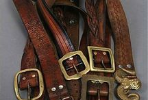 My leather belts