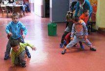 pohybové hry a cvičenie