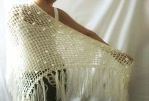 crocheted/knitted shawls/sweaters/ponchos / by Samantha Karr-Tom