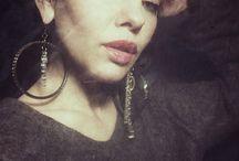 Earring Pleasantries / Hand crafted earrings