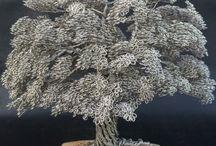 Escultura de árvore