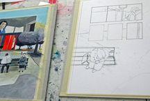 entwürfe - in arbeit / vorstufen von arbeiten