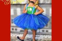 Girls Pixar Inspired Costumes