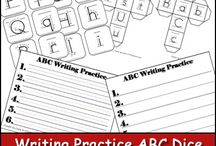 Alphabet, Reading and Writing / by Rachel Carter