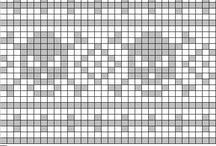skalle mønster