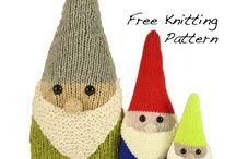 knitting needles toys