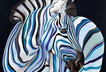 zebra és más állatok
