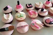Pamper party cakes