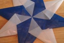 Our window stars & lanterns