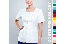 Żakiet medyczny / Żakiety medyczne dla lekarzy, pielęgniarek i kosmetyczek. Sprzedawane przez nas ubrania są nie tylko praktyczne, ale eleganckie i wygodne.