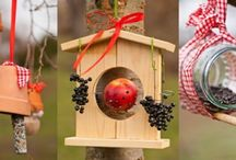 DIY bird feeders – 3 easy and original ideas to make
