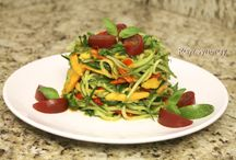 Raw Food Dishes / Raw food recipes and meal ideas. Low fat gourmet raw meals for inspiration to keep you healthy and happy!
