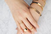 All gold everything  / Jewelry  / by Anastasia Bonat