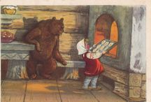 Masha and the Bear / by Russian Soul Vintage