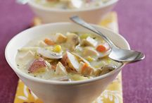 Recipes...soups / by Dina Willey Ross