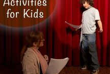 Drama & Acting Resources for Kids