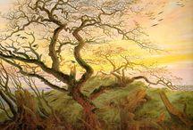 alberi in arte