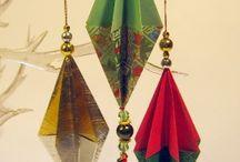 origami orecchini