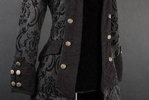 Gothic jakke/kåpe
