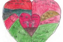 Heart Maps / I first introduced heart mapping to students more than fifteen years ago in a poetry class in Arizona, and then wrote about it in my book Awakening the Heart: Exploring Poetry in Elementary and Middle School. Since then I've introduced heart mapping in schools around the United States, and around the world, and the idea has spread. Heart mapping and writing is cited on over 100 websites, and when typed into Google close to eight million search results appear.
