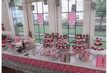 Baby Minnie Mouse Baby Shower / My baby shower back in September 2014.  I used many ideas from Pintrest and then incorporated my own flair for the candy buffet.  Both my sister in laws put this shower together and they did a wonderful job!  / by Wendy Wright