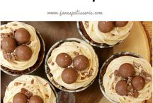 Recipes of cupcakes