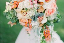 Bride's floral bouquet / Ideas for my wedding floral bouquet // Spunti per il mio bouquet di nozze