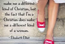 Inspirational Quotes / Be inspired to be all you can be in Christ.