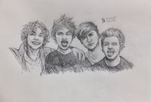 1D and 5SOS / one direction , 5 seconds of summer