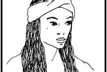 Wooln - drawings - marker on paper / Drawings
