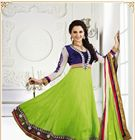 New Monica Bedi Suits / This season, add oomph factor to your style with our all new range of scintillating monica bedi anarkali salwar suits collection adorned with embroidery works.    Pick your favorite one @ FLAT 20% OFF in our monsoon sale...   Rush! Add them in your closet from http://www.sareesbazaar.com/Products.aspx?id=276&Name=Salwar-Kameez/Monica-Bedi-Collection