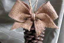 pinecones decor