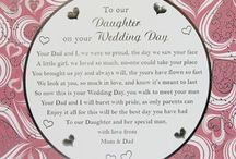 Daughters weddng