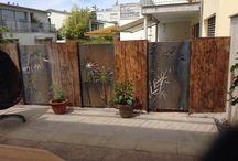 Stahl für den Garten