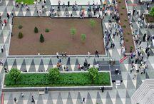 Kent meydanı/City square landscape