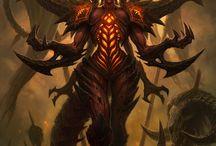 Diablo I,II,III (Reaper of Souls, Lord of Destruction, Hellfire)