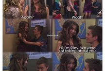 Girl Meets World / Maya, Lucas ❤️, Riley and Farkle  ❤️