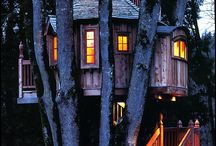 Barry Knows Cool Tree Houses / A home-slight-away-from-home