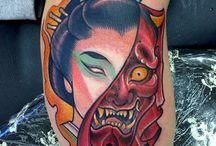 tattoo 和 ワンポイント