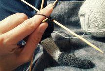 Yonohesido / Pequeños productos tejidos a mano para los más baby.