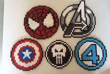 Marvel Hama beads