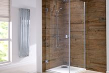 Frameless Shower Enclosures / A beautiful range of frameless shower enclosures available from SereneBathrooms.com and inspiration from around the world...